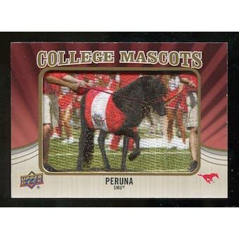 2013 Upper Deck College Mascot Manufactured Patch #CM83 Peruna D