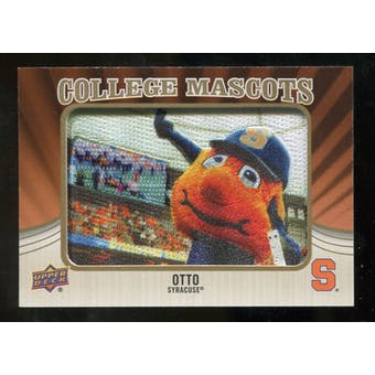 2013 Upper Deck College Mascot Manufactured Patch #CM84 Otto D
