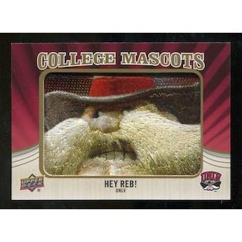 2013 Upper Deck College Mascot Manufactured Patch #CM86 Hey Reb D