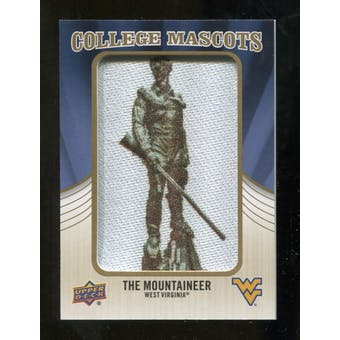 2013 Upper Deck College Mascot Manufactured Patch #CM89 Mountaineer D