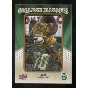 2013 Upper Deck College Mascot Manufactured Patch #CM96 CAM C