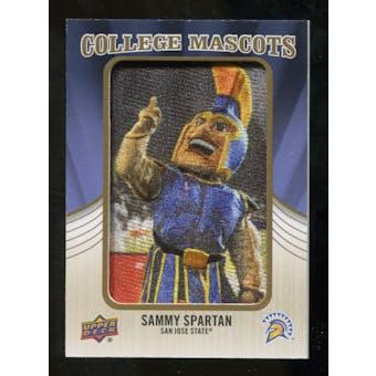 2013 Upper Deck College Mascot Manufactured Patch #CM97 Sammy Spartan C