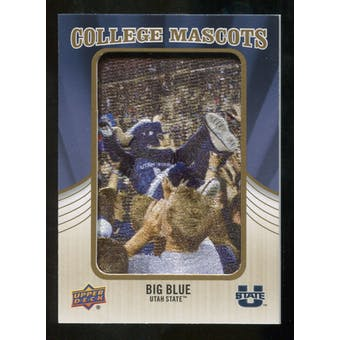 2013 Upper Deck College Mascot Manufactured Patch #CM100 Big Blue C