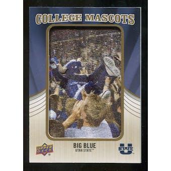 2013 Upper Deck College Mascot Manufactured Patch #CM100 Big Blue C