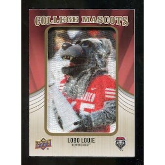 2013 Upper Deck College Mascot Manufactured Patch #CM101 Lobo Louie C
