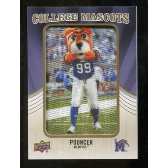 2013 Upper Deck College Mascot Manufactured Patch #CM102 Pouncer C