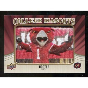 2013 Upper Deck College Mascot Manufactured Patch #CM105 Hooter C