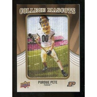 2013 Upper Deck College Mascot Manufactured Patch #CM107 Purdue Pete B