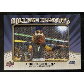 2013 Upper Deck College Mascot Manufactured Patch #CM111 Louie the Lumberjack B