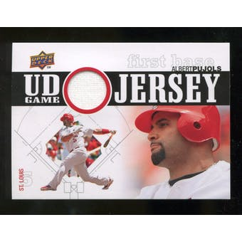 2010 Upper Deck UD Game Jersey #AP Albert Pujols