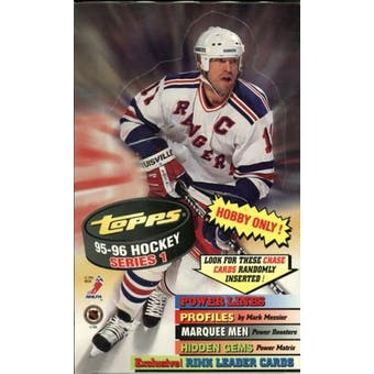 1995/96 Topps Series 1 Hockey Hobby Box