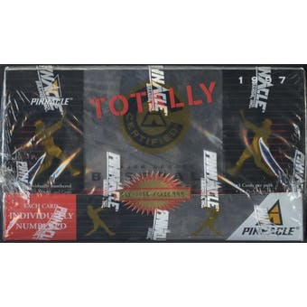 1997 Pinnacle Totally Certified Baseball Hobby Box