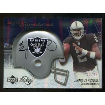 2007 Upper Deck Sweet Spot Signatures Silver #JR JaMarcus Russell /25