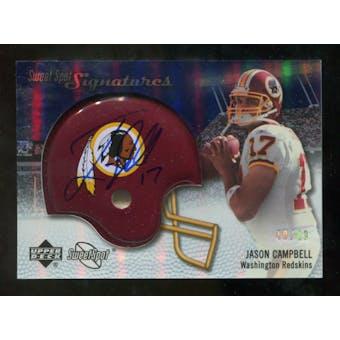 2007 Upper Deck Sweet Spot Signatures Silver #JC2 Jason Campbell /49