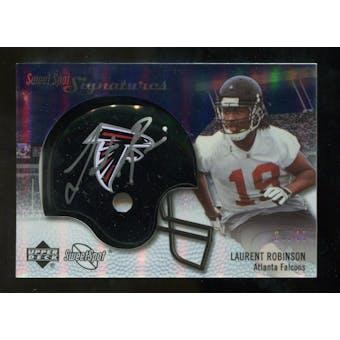 2007 Upper Deck Sweet Spot Signatures Silver #LR2 Laurent Robinson /49