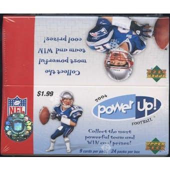 2004 Upper Deck Power Up! Football 24 Pack Box