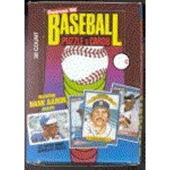 1986 Donruss Baseball Wax Box