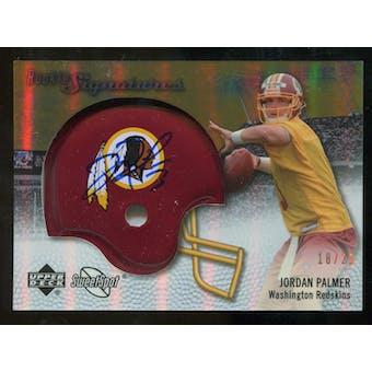 2007 Upper Deck Sweet Spot Rookie Signatures Gold #129 Jordan Palmer /29