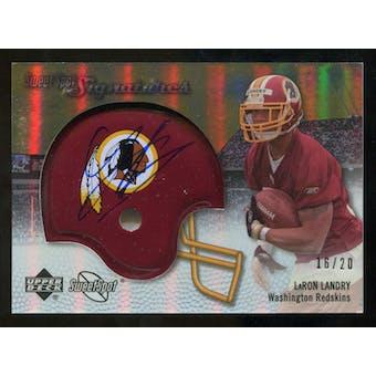 2007 Upper Deck Sweet Spot Signatures Gold #LL LaRon Landry /20
