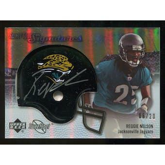 2007 Upper Deck Sweet Spot Signatures Gold #RN Reggie Nelson /20