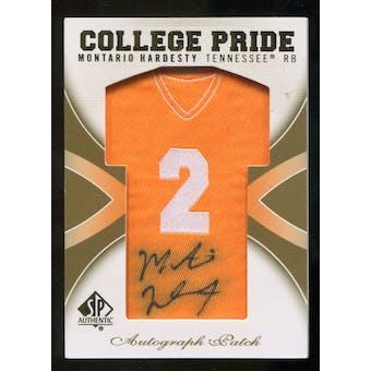 2010 Upper Deck SP Authentic College Pride Patch Autographs #MH Montario Hardesty Autograph