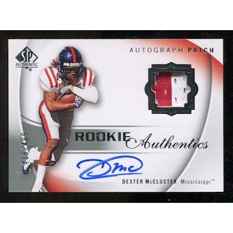 2010 Upper Deck SP Authentic #121 Dexter McCluster Jersey Autograph /499
