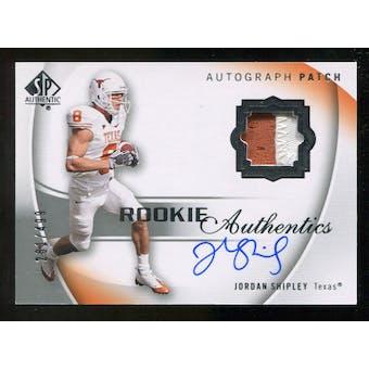 2010 Upper Deck SP Authentic #123 Jordan Shipley Jersey Autograph /499