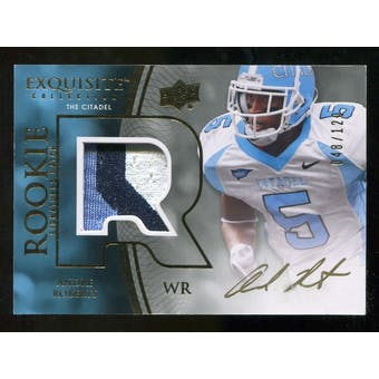 2010 Upper Deck Exquisite Collection #112 Andre Roberts RC Patch Autograph /120