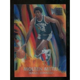 2012/13 Upper Deck Fleer Retro 96-97 Molten Metal #1 Magic Johnson