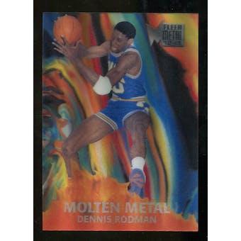 2012/13 Upper Deck Fleer Retro 96-97 Molten Metal #6 Dennis Rodman
