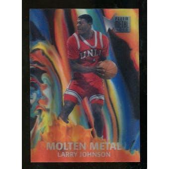 2012/13 Upper Deck Fleer Retro 96-97 Molten Metal #7 Larry Johnson