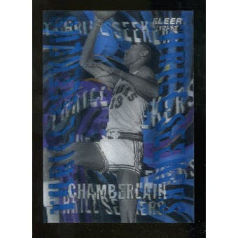 2012/13 Upper Deck Fleer Retro 96-97 Tradition Thrill Seekers #2 Wilt Chamberlain