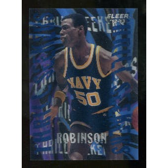 2012/13 Upper Deck Fleer Retro 96-97 Tradition Thrill Seekers #7 David Robinson