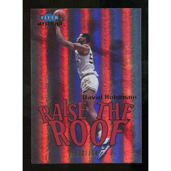 2012/13 Upper Deck Fleer Retro 99-00 Mystique Raise the Roof #8RR David Robinson /100