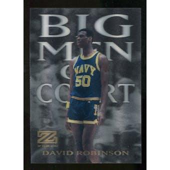 2012/13 Upper Deck Fleer Retro 97-98 Z-Force Big Men on Court #2 BMOC David Robinson