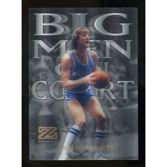 2012/13 Upper Deck Fleer Retro 97-98 Z-Force Big Men on Court #4 BMOC Larry Bird