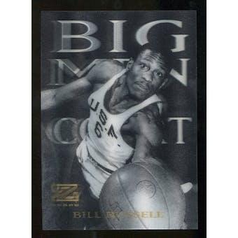 2012/13 Upper Deck Fleer Retro 97-98 Z-Force Big Men on Court #11 BMOC Bill Russell