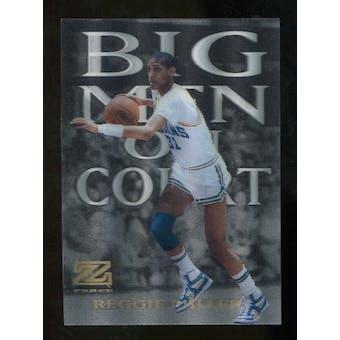 2012/13 Upper Deck Fleer Retro 97-98 Z-Force Big Men on Court #17 BMOC Reggie Miller