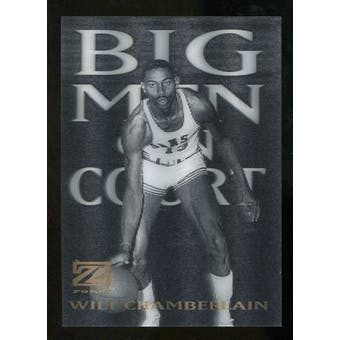 2012/13 Upper Deck Fleer Retro 97-98 Z-Force Big Men on Court #20 BMOC Wilt Chamberlain