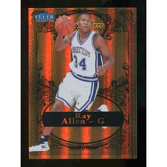 2012/13 Upper Deck Fleer Retro 98-99 Tradition Playmakers Theater #2PT Ray Allen /100