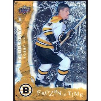 2008/09 Upper Deck Trilogy Frozen in Time #101 Bobby Orr /799