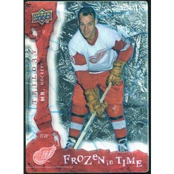 2008/09 Upper Deck Trilogy Frozen in Time #111 Gordie Howe /799
