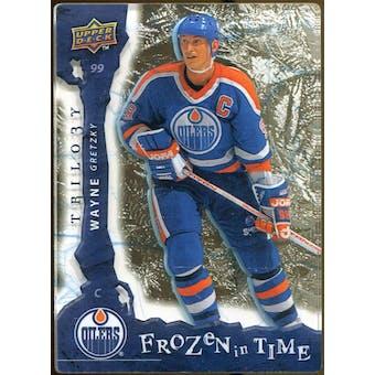 2008/09 Upper Deck Trilogy Frozen in Time #120 Wayne Gretzky /799
