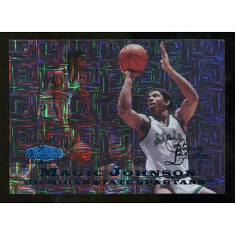 2012/13 Upper Deck Fleer Retro 97-98 Flair Legacy Row 0 #97FL32 Magic Johnson 10/100