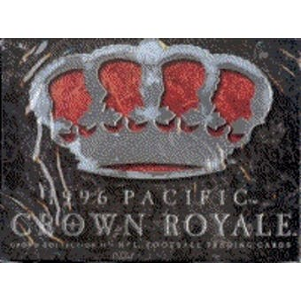 1996 Pacific Crown Royale Football Hobby Box