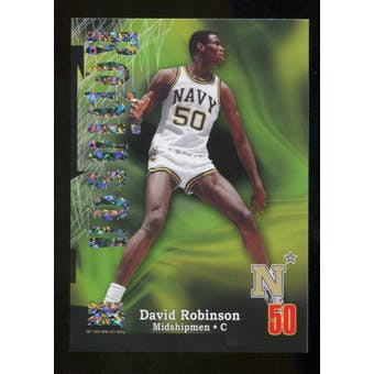 2012/13 Upper Deck Fleer Retro 97-98 Z-Force Super Rave #Z6 David Robinson /50