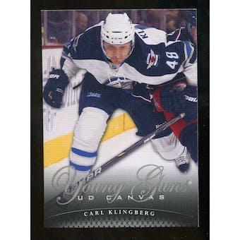 2011/12 Upper Deck Canvas #C118 Carl Klingberg YG