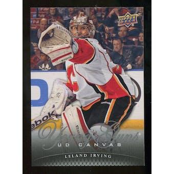 2011/12 Upper Deck Canvas #C235 Leland Irving YG