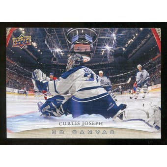 2011/12 Upper Deck Canvas #C252 Curtis Joseph RET