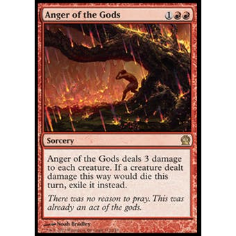 Magic the Gathering Theros Single Anger of the Gods Foil - NEAR MINT (NM)